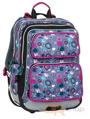 GALAXY 8 školní batoh Bagmaster A-Pink-Gray-Green 632497a899