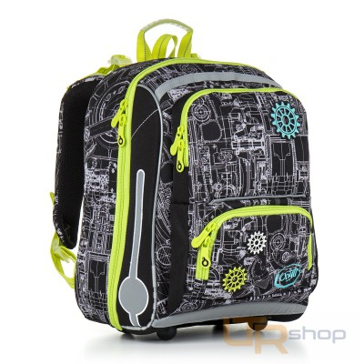 5cdef8e759 CHI 785 E školní batoh Topgal E-Green