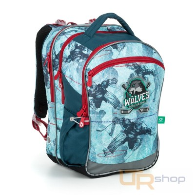 a7e483b1df COCO 19012 B Topgal školní batoh B-Blue