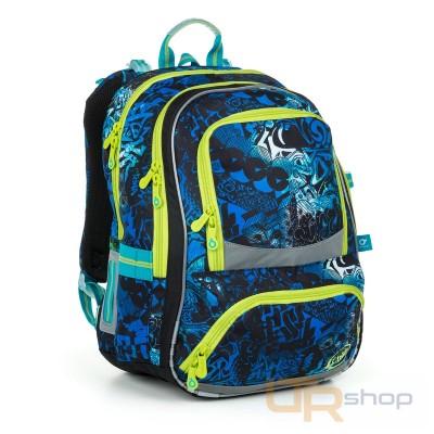 5731aad7bd NIKI 19017 B Topgal školní batoh B-Blue