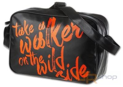 4e0d80001f 42414 studentská taška přes rameno Walker Emipo Černá